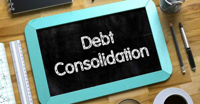 How can debt consolidation help you from being bankrupt?